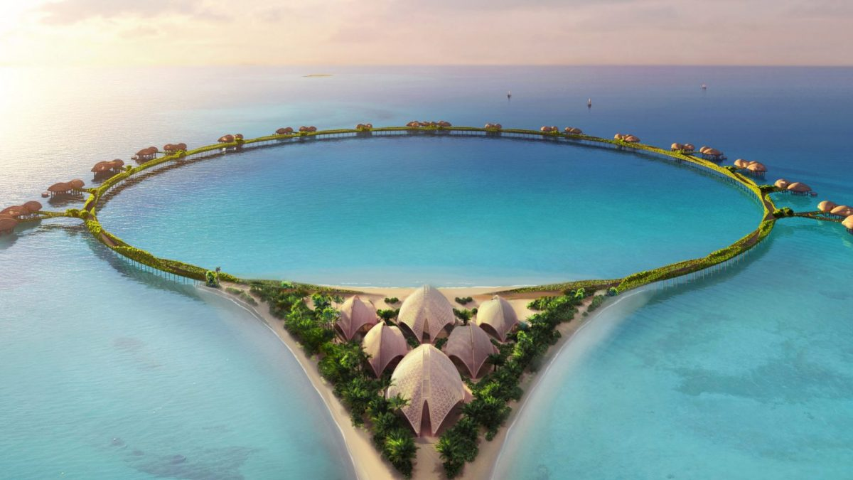There seems to be no stopping Saudi Arabia – The kingdom is now making a stunning ring-shaped hotel on stilts