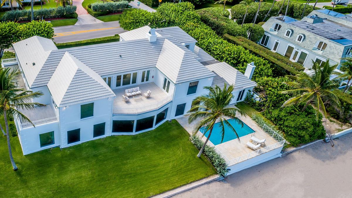 Selling their family jewels? – The Trumps have listed their long time family-owned Palm Beach mansion to pocket a cool profit of $31 million