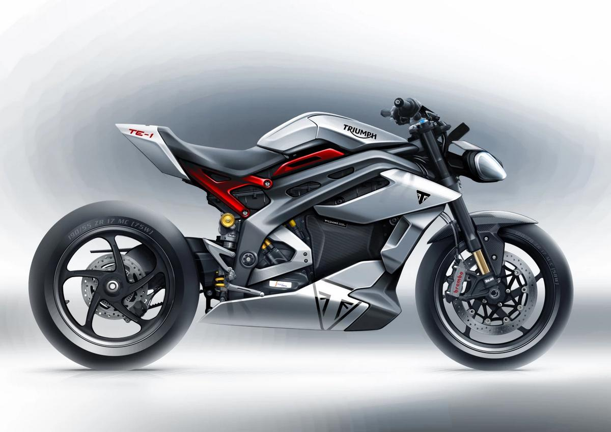 Triumph's upcoming electric motorcycle will be insanely fast in fact it will be a rocket on two wheels