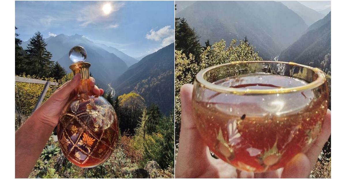 Harvested in a cave 8,000 feet above sea level, at $12,100 per kg this Turkish honey is the most expensive in the world