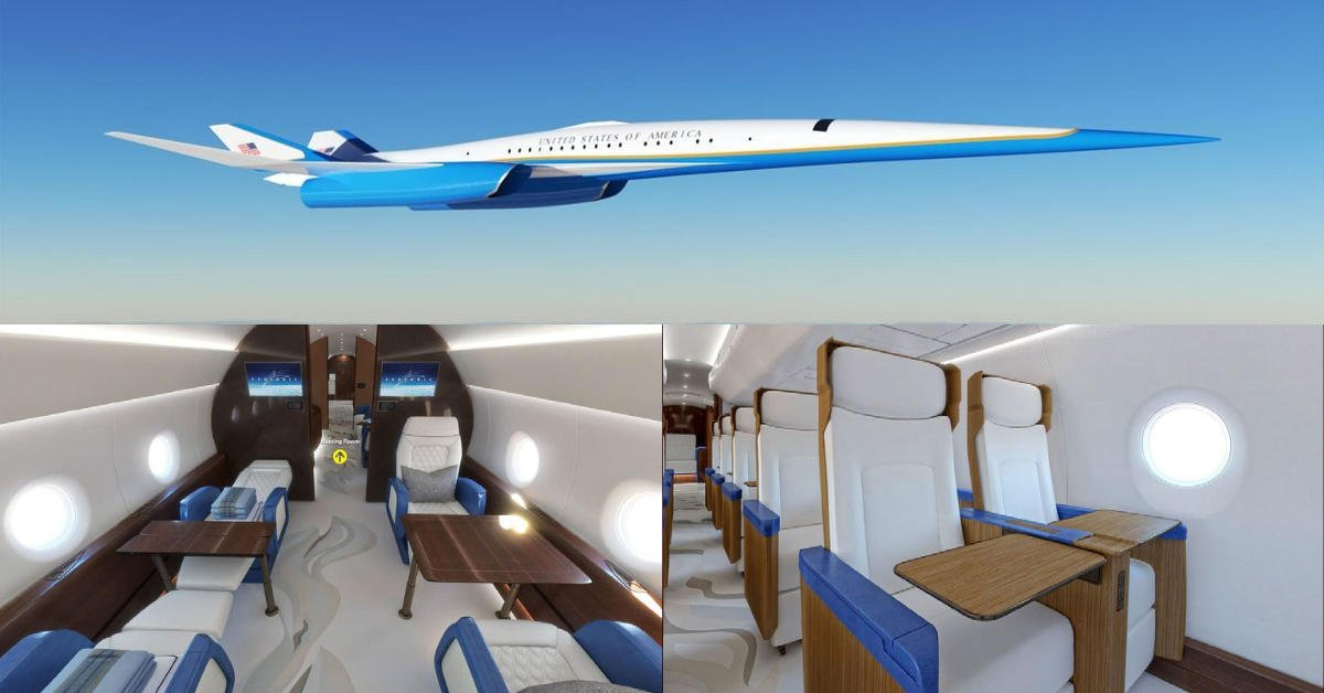 Joe Biden is getting a supersonic Air Force One – Sleeker than the Concorde the new jet will go twice the speed of sound, pamper the President and wont even make a sonic boom