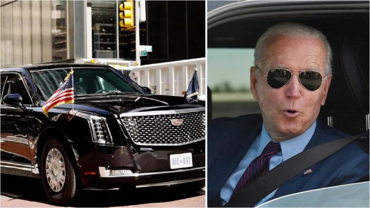 The 'Green Beast' - President Biden wants to replace the gas guzzling $1.5  million presidential limo that was built specially for Donald Trump with an  electric one : Luxurylaunches